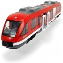 Medinis traukinukas su bėgiais 60 detalių