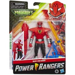 Power rangers beast-x-red...