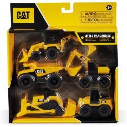 Mini traktoriukų rinkinys CAT