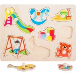"""Puzzle """"Žaisliukai"""" 8 dalys"""