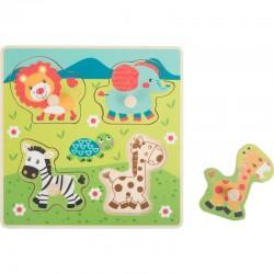 """Puzzle """"Safari"""" 4 dalys"""