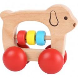 Medinis žaisliukas šuniukas