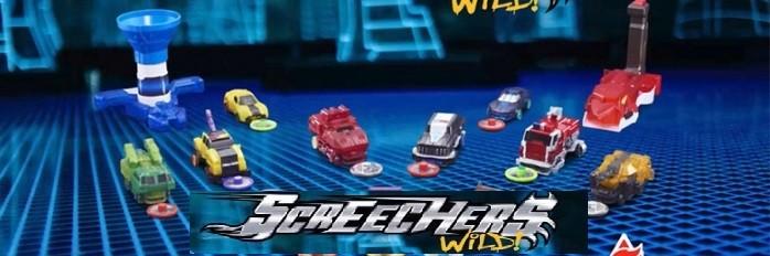 Screechers mašinėlės transformeriai